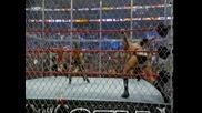 The Game Triple H and Shawn Michaels D generation - X vs Пилешкия и Свинския грип The Bitchs Part 1
