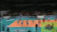 Пламен Константинов освиркан от феновете при Цска 0:3 Ираклис (волейбол) 21.01