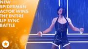 Том Холанд направи най-великото Lip Sync представление