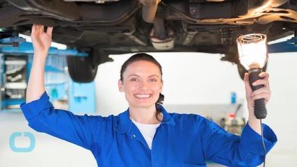Empowered Female Engineer Teaches Ladies Auto Repair