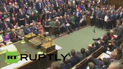 UK: Corbyn amplifies public concerns of tory policy on housing and benefits at PMQs
