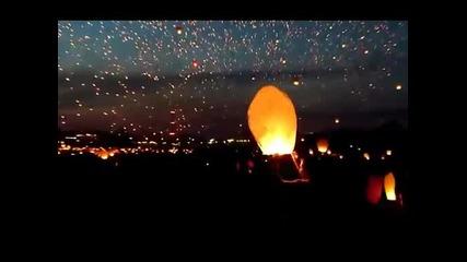 11 000 светещи фенера в небето ( страхотно )