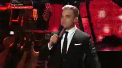 Barry Manilow, Robbie Williams and Gary Barlow - Could It Be Magic