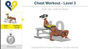 Лицеви трето ниво / Chest Workout - Level 3