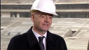 Russia: FIFA's Infantino says Moscow will be ready to host WC 2018