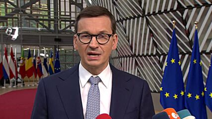 Belgium: Poland won't 'act under pressure or blackmail' - PM Morawieck as he arrives for EU summit