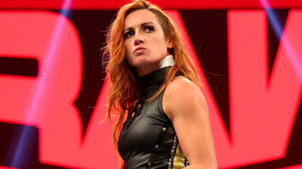 Becky wants a piece of Shayna after being bitten: Raw, Feb. 10, 2020