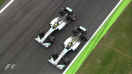 Най - доброто от Гран При на Италия Формула 1 Сезон 2013