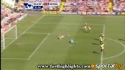 10.04.11 Блекпул - Арсенал 1:3 / Леман с повторен дебют на 41 години /