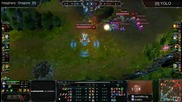 League of Legends: Eps 7 - Imaginary Dragons vs Yolo - Групи #20
