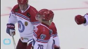 Russia's Putin Scores 8 Goals With NHL Veterans