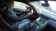 Австрийка кара с 300 km/h Lamborghini Aventador Lp 700