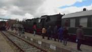 Парен Локомотив Баба Меца прави маневра в гара Кюстендил