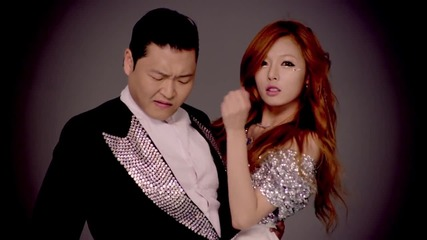 Превод / / 2012 / / Psy ft. Hyuna - Gangnam Style { Oppa Is Just My Style } ( Official Video )