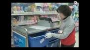 В Южна Корея пазаруват в метрото във виртуален магазин