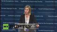 Belgium: Syrian crisis is most serious war of our time - Mogherini