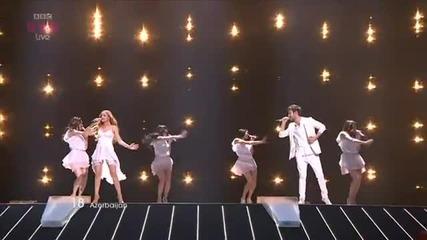 Победителят на Евровизия 2011: Ell & Nikki - Running Scared (азербайджан)