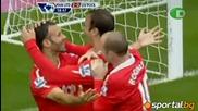 Ман Юнайтед 3 - 2 Ливърпул , исторически хеттрик на Бербатов