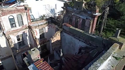 Turkey: Drone captures Trotsky's crumbling mansion on Buyukada Island