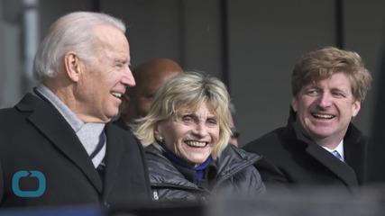 Biden Remembers Teddy Kennedy With Locker-room Anecdote