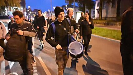 Slovenia: Protesters scuffle with police amid ongoing COVID-19 protests in Ljubljana