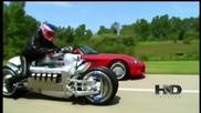 Мотор с V10 двигател от Dodge Viper