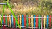 """От """"Моята новина"""": Обрасла от трева детска площадка"""