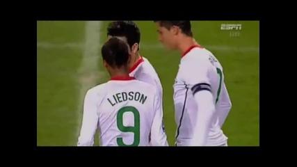 Cristiano Ronaldo vs Denmark By Me