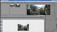 Как да разделим екрана на две части с Sony Vegas Pro 11
