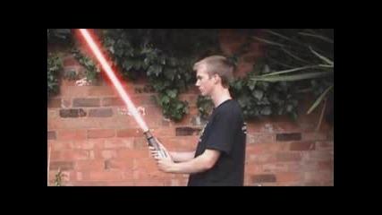 Смешна Реклама на Лазерни Мечове