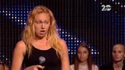 X Factor 07.10.2014 - Изпълнение на Beyonce Halo