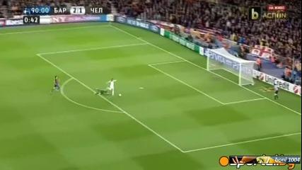 Шампионска лига полуфинал: Барселона - Челси (24.04.2012) в минута и половина