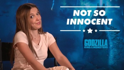 Millie Bobby Brown's Godzilla co-stars joke she's 'psychotic'