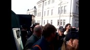 Волен Сидеров:протестите ще продължават! Народа има право на това! 2014 07 11
