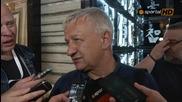 Христо Крушарски след срещата за висшата лига
