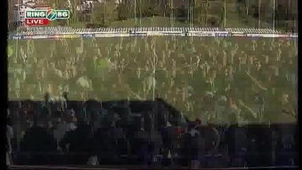 Чавдар - Берое 0 - 1 28.04.2010 ( Атанас Атанасов след мача )