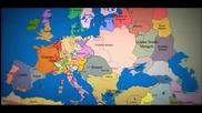 Как са се изменяли границите на България и Европа за 1000 години