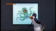 Пингвините от Мадагаскар - 2x66 - Извънземни (бг аудио) Hq