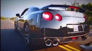 Nissan Gt-r R35 w- Armytrix cat-back Exhaust Revving & Accelerating!