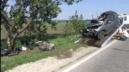 Жена загина в тежка катастрофа на пътя Русе-Разград