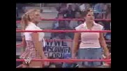 Триш Печели Taboo Tuesday 2004 - (учениески униформи,целия мач)