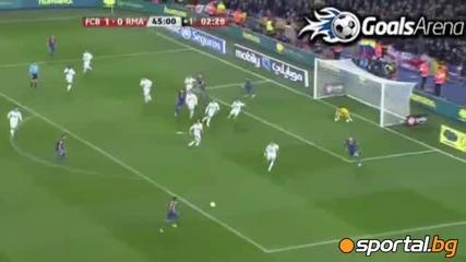 Барселона - Реал Мадрид 2 - 2 25.01.2012