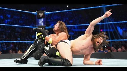 "AJ Styles & Mustafa Ali vs. ""The New"" Daniel Bryan & Andrade ""Cien"" Almas: SmackDown LIVE, Dec. 18, 2018"