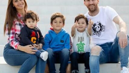 Семейството на Лионел Меси