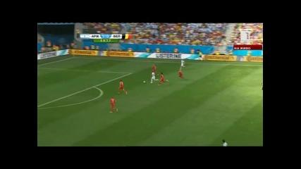 Мондиал 2014 - Аржентина 1:0 Белгия - Меси и компания на 1/2 финал за първи път от 1990 година!