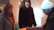 Роро и Надя Донесоха Коледно Чудо на Семейство в Нужда
