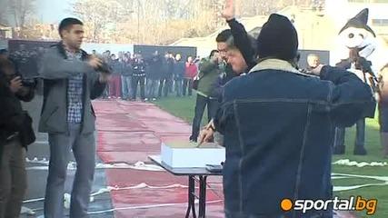 Първа тренировка за 2010 година - Локомотив Пловдив