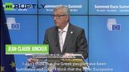Greece and Eurogroup Reach 'Agreekment'