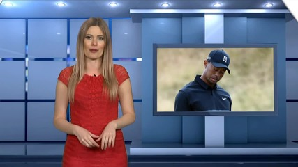 Tiger Woods Loses Club Mid Swing!