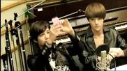 120514 Exo Kai Sehun singing dancing to Sistar